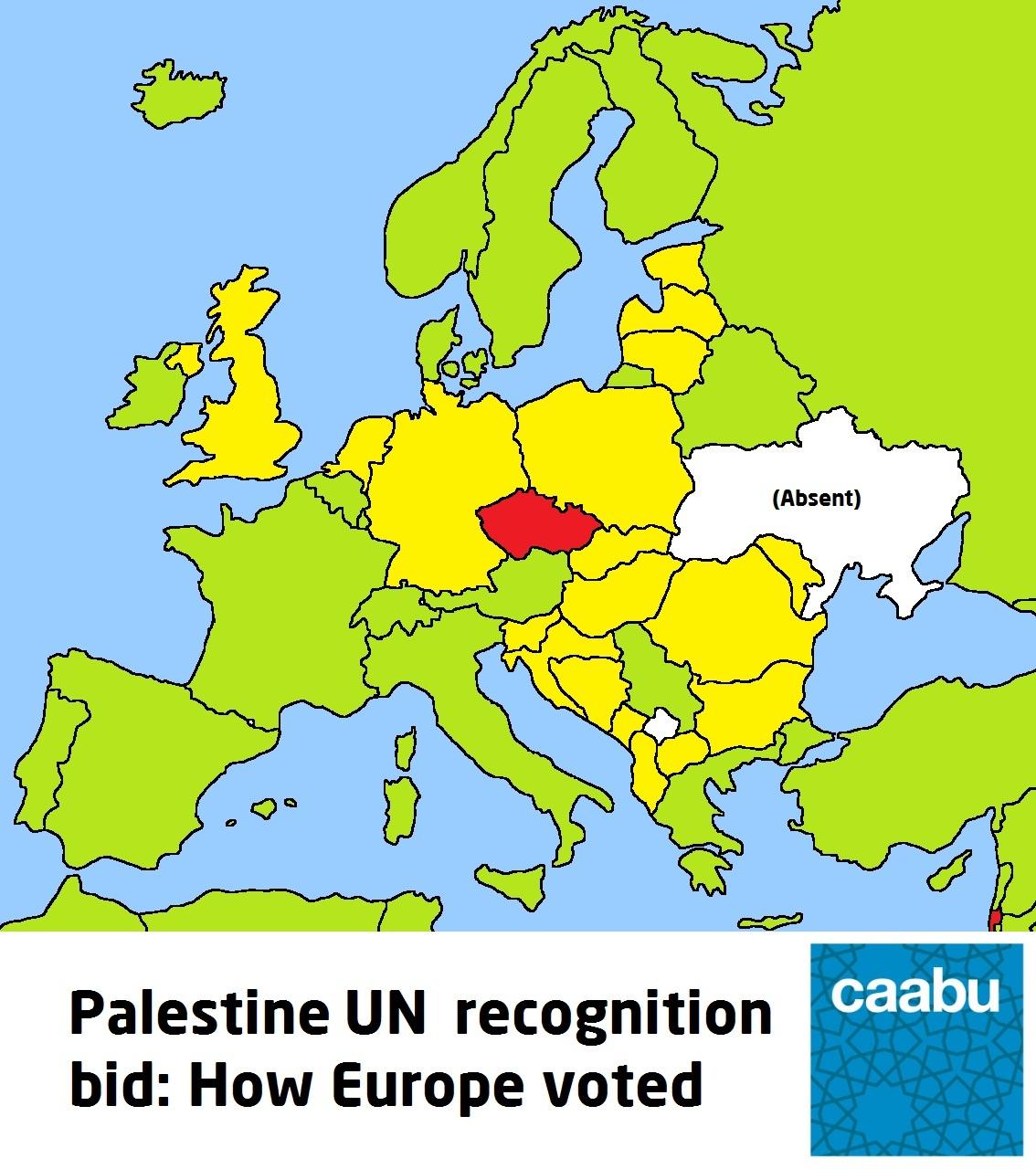 MAP Europe and Palestines UN bid Caabu