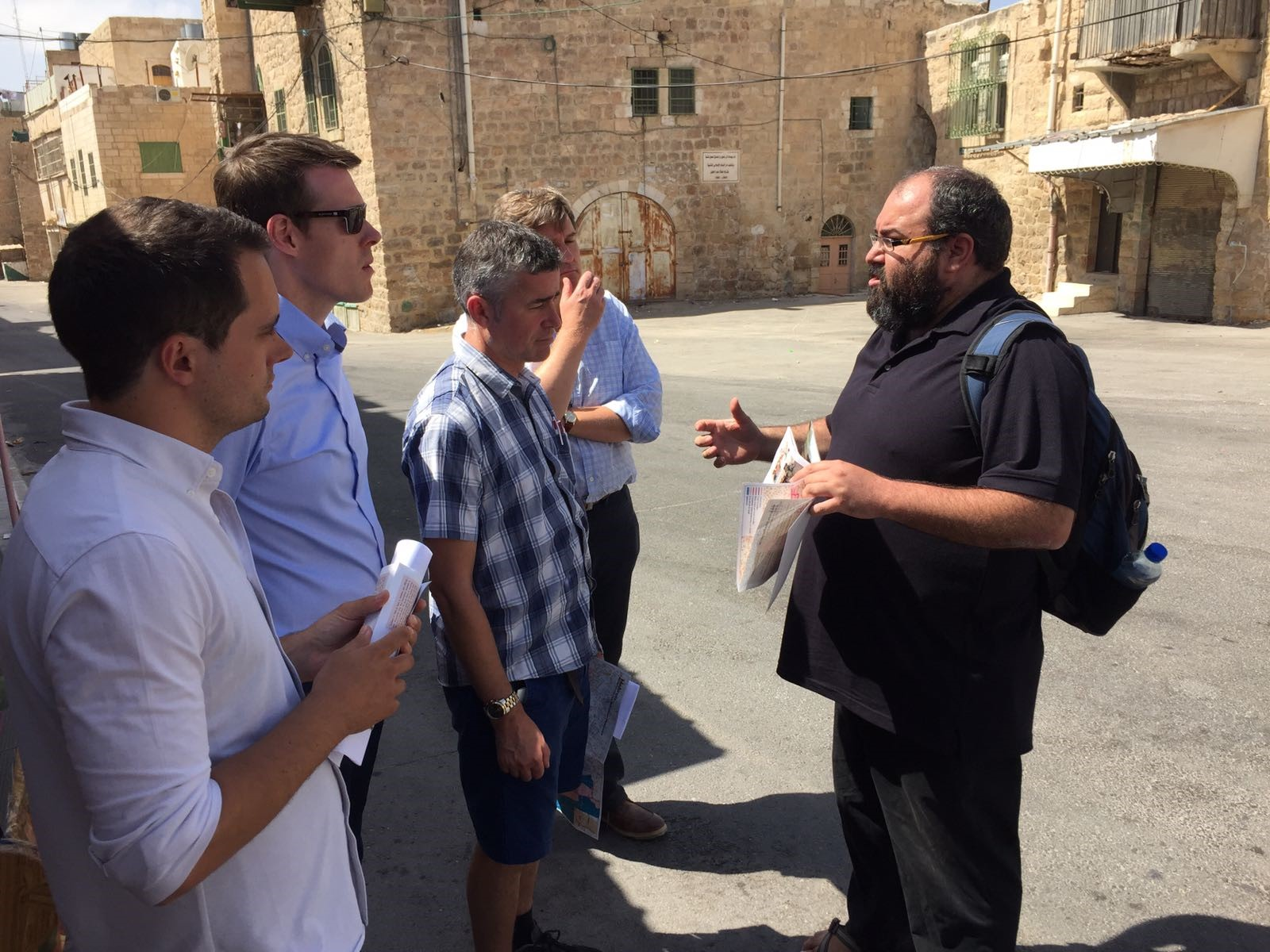 MPs in Hebron