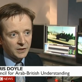 Chris Doyle on BBC News at Ten